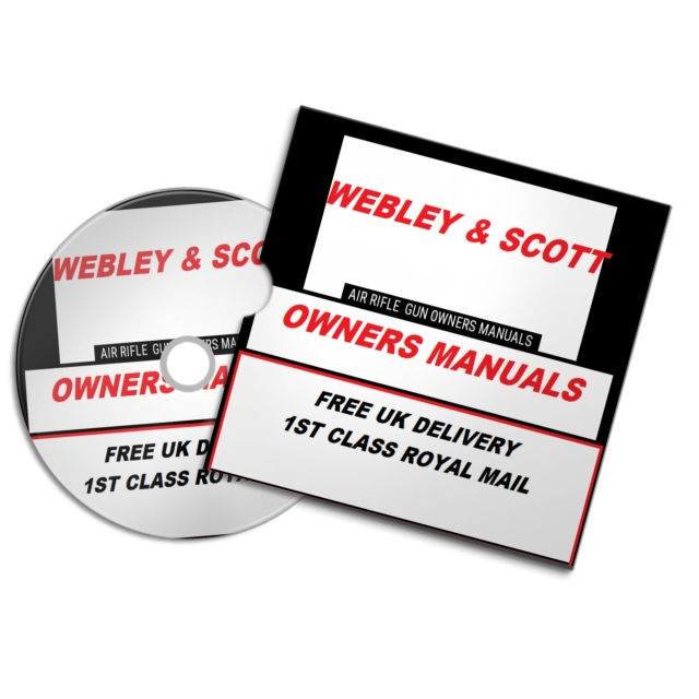 WEBLEY SCOT AIR RIFLE GUN PISTOL OWNERS MANUALS MIXED FREE FIREARMS WEAPONS